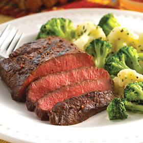 steak, broccoli, potato are all gluten free
